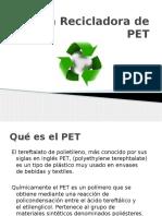 Planta Recicladora de PET 2da Parte
