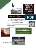 aquinas student booklet soccer