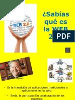 Sabías Qué Es La WEB 2?
