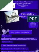 Distribución y Transporte Del Gas (Diapositivas)