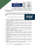 SGI-POL-V01-001 - POLÍTICA DE SEGURIDAD Y SALUD EN EL TRABAJO.docx