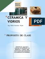 Clases de ceramicos y vidrios .