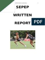sepep written report