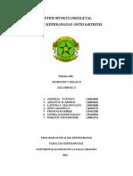 OSTEOARTRITIS Makalah