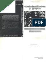 Bauleo Contrainstitución y Grupos