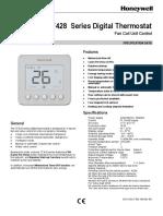 TF418 Termostato Digital Orquidea o3 Manual Instalacion