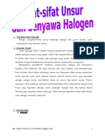 Laporan Praktikum Halogen.doc