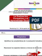 3.- Evaluación formativa