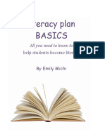 multi-genre literacy plan  ltm 621