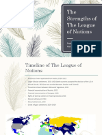 the strengths of the league of nations