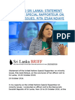 MISSION TO SRI LANKA  STATEMENT OF THE UN SPECIAL RAPPORTEUR ON MINORITY ISSUES, RITA IZSÁK-NDIAYE.docx