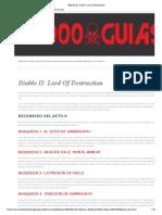 1000 Guías_ Diablo II_ Lord of Destruction