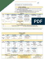 Cronograma Del Congreso 2016-10-20