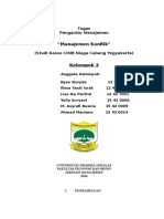 Pengantar Manajemen - Kelompok 2 (Manajemen Konflik)
