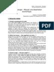 dissertation economique