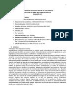 Derecho Constitucional 2 1 UNMSM