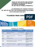 Presentación Consejo Técnico Septiembre