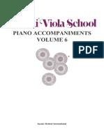 Suzuki 06 Viola School - Hungarian Dance - Piano Part