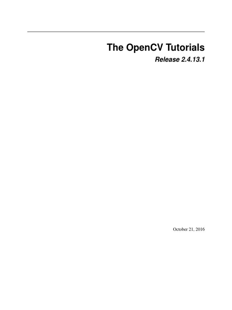 Opencv Tutorials   Library (Computing)   Microsoft Visual Studio
