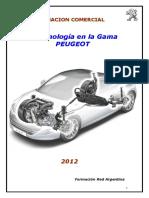 Tecnologia 2012 III Peugeot