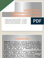 Logistica y Distribución Fisica Internacional Dfi