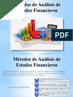 Metodos de Analisis de Estados Financieros