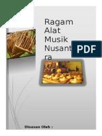 Alat Musik Nusantara