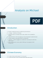 Case analysis Michael