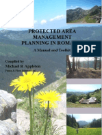Protected Area Management Planning Toolkit ROMANIA