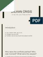 first balkan crisis