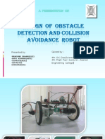 Design of Collision Detection and Obstacle Avoidance Robot