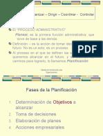 [PD] Presentaciones - Proceso Administrativo - Planificacion