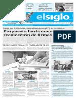 Edición Impresa El Siglo 21-10-2016