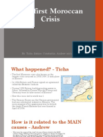 first moroccan crises