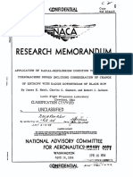 Naca Research Memorandum Rm e54a20 - Application of Radial-equilibrium Condition to Axial Flow Turbomachine Design Including Consideration of Change of Entropy With Radius Downstrean of Blade Flow - 1954 - Unclassified