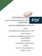 Copia de Analisis e Interpretaciones Alos Ee.ff-trabajo de Ratios -Huayanay Izquierdo Franklin