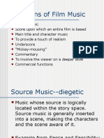 Functions of Film Music