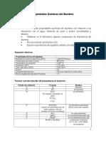 Práctica nº 3 (Propiedades Químicas del Aluminio)