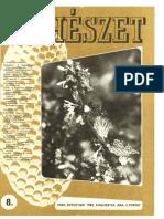 Méhészet 1984 08