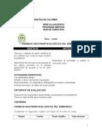 Guía de Cambios Anatomofisiológicos de La Gestacion