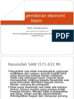 Sejarah pemikiran ekonomi Islam_UGM.ppt