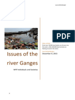 river ganges - pollution
