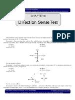 IGP CSAT Paper 2 General Mental Ability Direction Sense Test