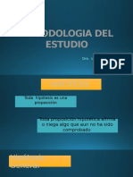 Metodologia Del Estudio