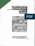Ruiz Vargas-La Organizacion Neurocognitiva La Memoria-Anthropos