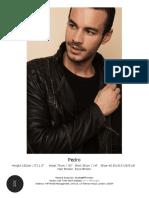 Pedro Fit 4 Fashion Models