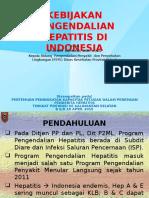 Kebijakan Program Pengendalian Hepatitis Di Indonesia April 2015 A