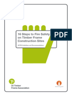16 Steps to Fire Safety