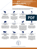 2016 Elections to Watch Infographic