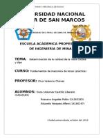 Clasificación Geomecánica RMR